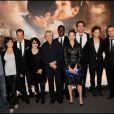 L'équipe du film lors de l'avant-première du film Ces amours-là à Paris le 12 septembre 2010