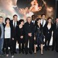 L'équipe du film lors de la présentation du film Ces Amours-là à Paris le 12 septembre 2010