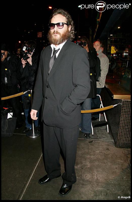 Joaquin Phoenix en février 2009