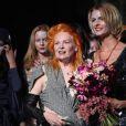 Vivienne Westwood lors du défilé Vivienne Westwood à Londres le 19 septembre 2010