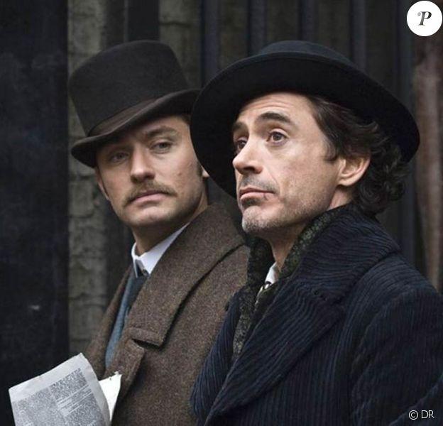 Des images de Sherlock Holmes, sorti en février 2010.