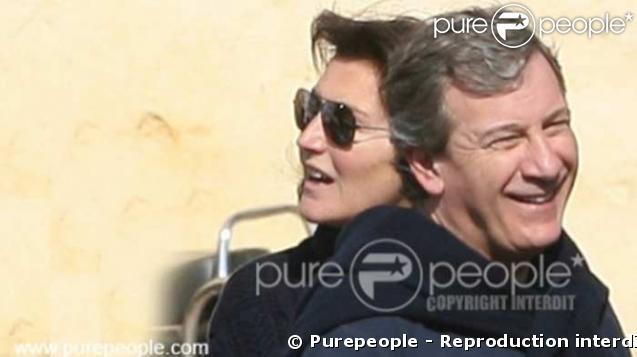 Cécilia et Richard Attias étaient venus soutenir Fernando Alonso au Grand Prix de Bahreïn