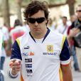 Le coureur de F1 espagnol Fernando Alonso