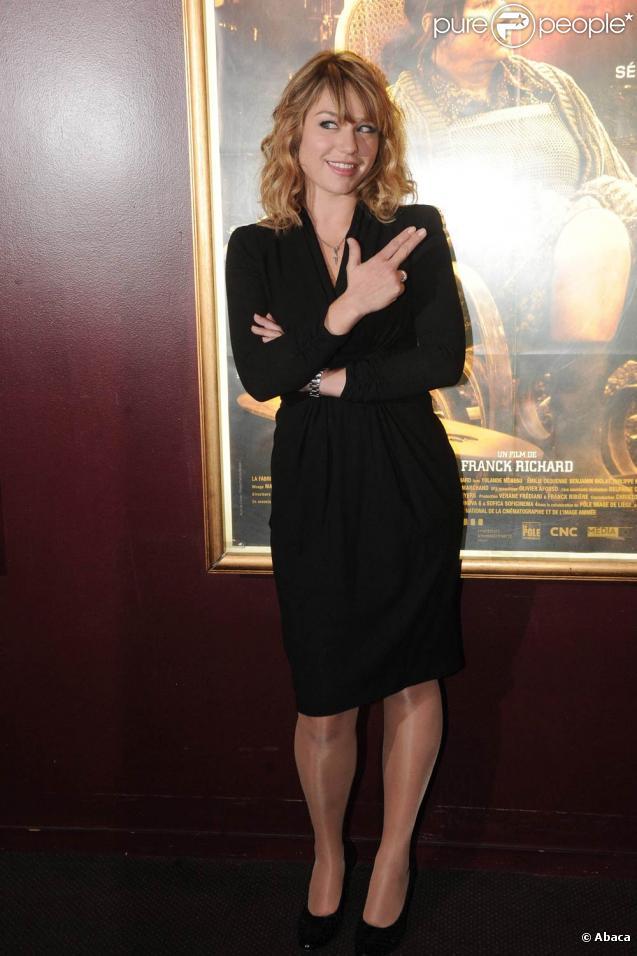 Emilie Dequenne, à l'occasion de l'avant-première de  La meute , au Gaumont Marignan, sur les Champs-Elysées, à Paris, le 28 septembre 2010.