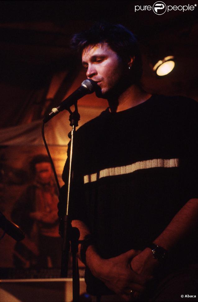Bertrand Cantat en concert en 1998