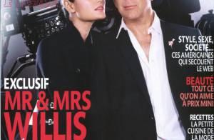 Bruce Willis pose avec sa femme et confie vouloir d'autres enfants !