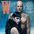 Bruce Willis et Emma Heming avaient déjà posé ensemble pour W