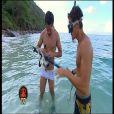Les garçons à la pêche