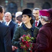 Mary de Danemark, enceinte de 6 mois : une profonde révérence pour sa reine !