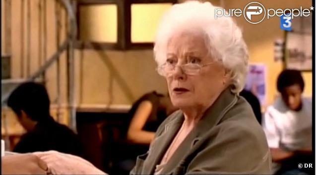 Colette Renard, décédée le 6 octobre 2010