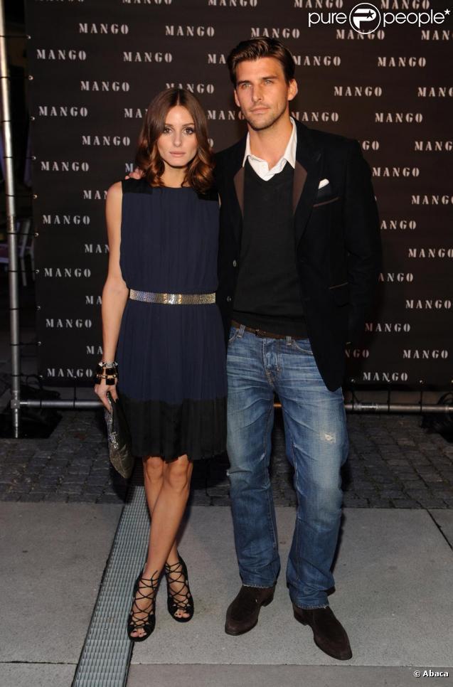 523c214a500 Olivia Palermo et son petit ami lors de la soirée Mango le 6 octobre 2010 à