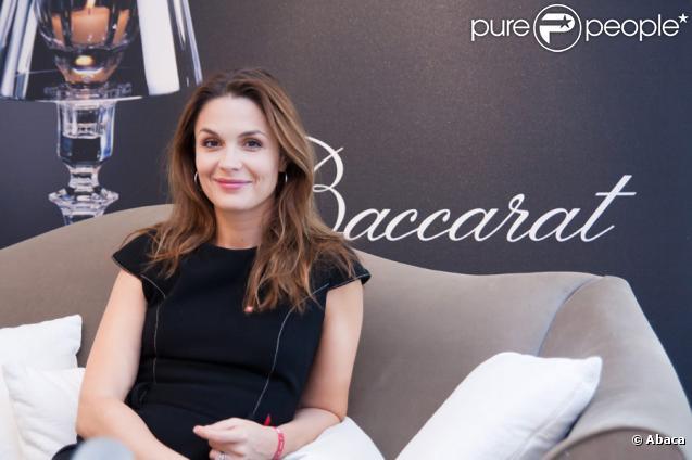 Barbara Schulz, marraine de l'opération Coeur de Cristal lancée par la Maison Baccarat en faveur de Mécénat Chirurgie Cardiaque