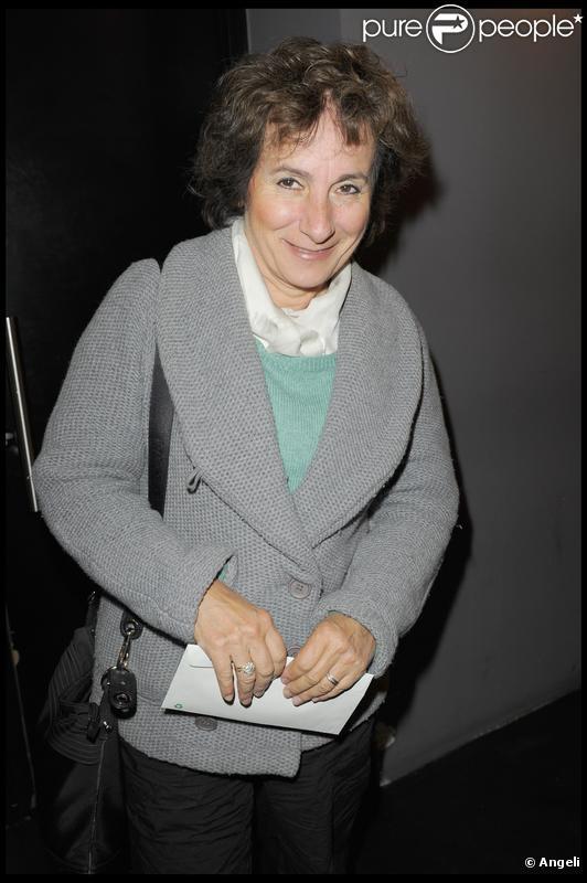Marie-Paule Belle en octobre 2009.