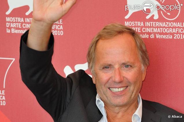 Fabrice Luchini présente le film Potiche à Venise en septembre 2010