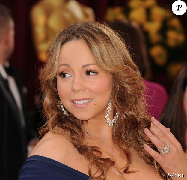 La chanteuse américaine Mariah Carey