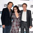 Colin Firth, Helena Bonham Carter et Geoffrey Rush lors du photocall pour le film The Kings Speech au cinéma Vue sur Leicester Square à Londres durant le BFI London Film Festival le 21 octobre 2010