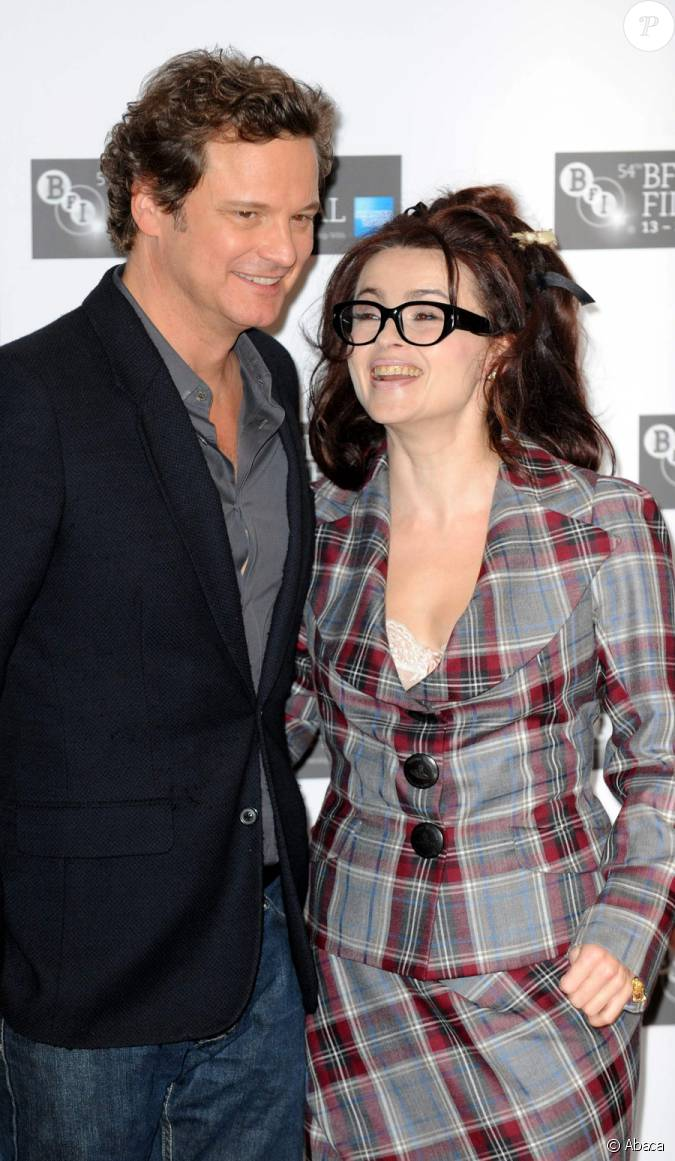 Colin Firth et Helena ...