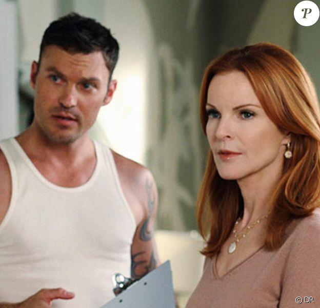 Marcia Cross et Brian Austin Green dans Desperate Housewives