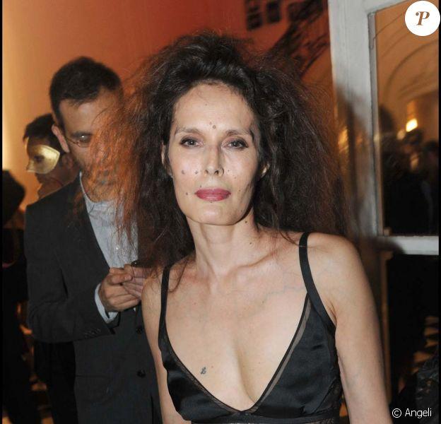 Bambou, 90e anniversaire du magazine Vogue, Paris, le 30 setpembre 2010