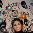La Miss Univers Jimena Navarrete lors de la soirée Halloween Party, organisée par Heidi Klum, le 31 octobre 2010