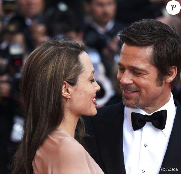 """Face aux nombreuses rumeurs de rupture, Brad Pitt affirme son amour à Angelina Jolie :""""Je suis amoureux et j'ai la plus belle des familles... Que demander de plus ? Je suis l'homme le plus heureux de la terre."""""""