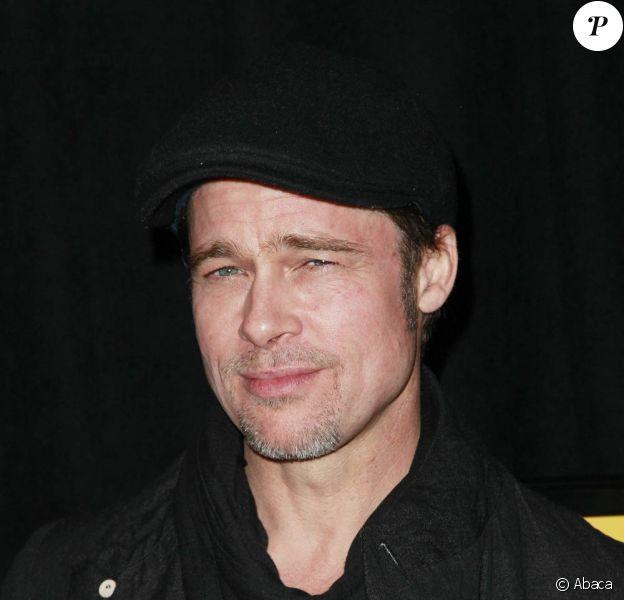 Brad Pitt lors de l'avant-première de Megamind, à l'AMC Lincoln Square Theatre de New York, le 3 novembre 2010.
