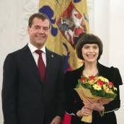 Mireille Mathieu est très officiellement l'amie de la Russie !