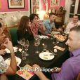Les prétendants de Benjamin dînent avec les parents de ce dernier dans Qui veut épouser mon fils ?