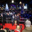 Daniel Radcliffe, Emma Watson, Rupert Grint lors de l'avant-première de Harry Potter et les Reliques de la mort - Partie I le 11 novembre à Londres