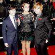Daniel Radcliffe, Emma Watson et Rupert Grint lors de l'avant-première de Harry Potter et les Reliques de la mort - Partie I le 11 novembre à Londres