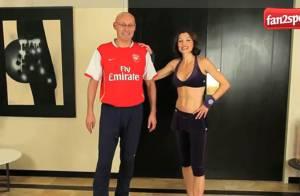Quand Bernard Laporte se met au fitness en très charmante compagnie...