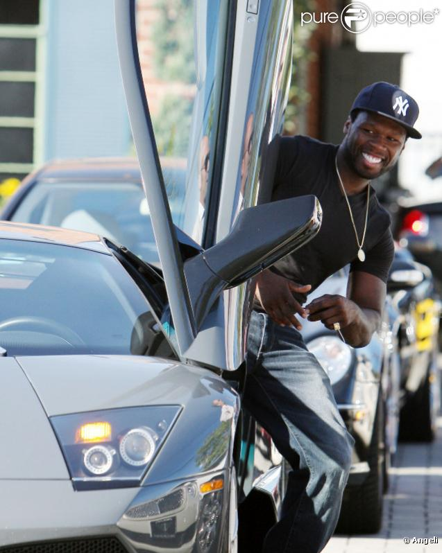 50 cent aime caresser les belles carrosseries qu 39 en pense sa ch rie purepeople. Black Bedroom Furniture Sets. Home Design Ideas