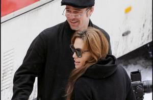 Angelina Jolie, réalisatrice déterminée, son amoureux Brad Pitt premier fan !