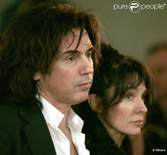 Jean-Michel Jarre et Anne Parillaud, Lyon, avril 2006