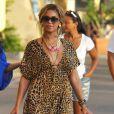 Beyoncé n'a jamais froid aux yeux, une robe courte à motif léopard ? Même pas peur !