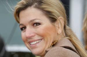 La princesse Maxima des Pays-Bas encourage ses