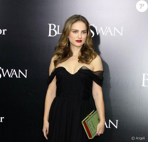 Natalie Portman lors de l'avant-première de Black Swan, à New York, le 30 novembre 2010.