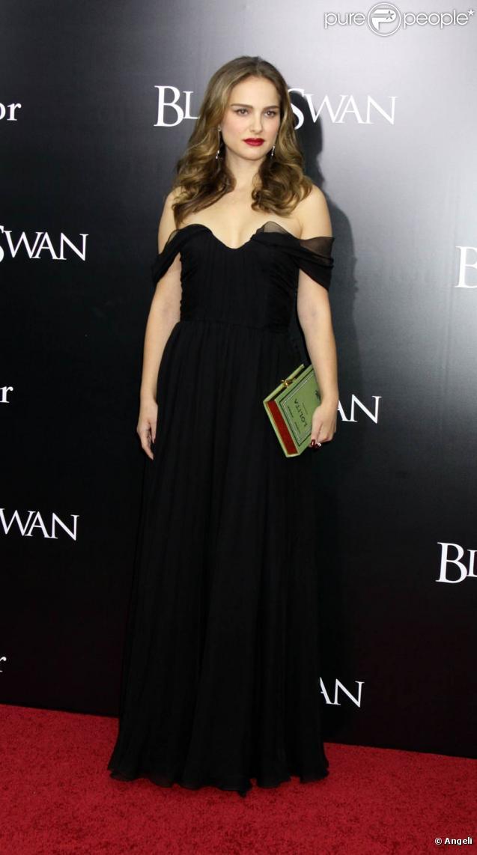 Natalie Portman lors de l'avant-première de  Black Swan , à New York, le 30 novembre 2010.