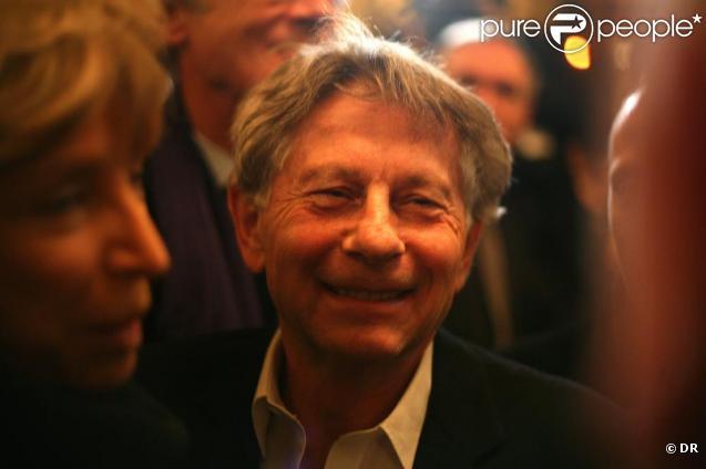 Roman Polanski aux 20 ans de la revue La règle du jeu, au Café de Flore, à Paris. 30/11/2010