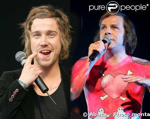 Julien Doré et Philippe Katherine