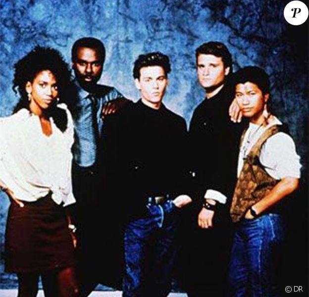 Des images de la série 21, Jump Street, en 1988.