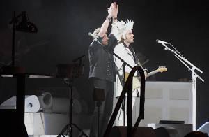 Johnny Hallyday : Regardez son retour sur scène surprise et explosif avec M !