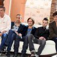 Benoit Jacquot, Faouzi Bensaidi, Gael Garcia Bernal, Dominic Cooper et Riccardo Scamarcio, membres du jury du Xème Festival International du Film de Marrakech le 4 décembre 2010
