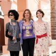Maggie Cheung, Yousra et Irène Jacob, membres du jury du Xème Festival International du Film de Marrakech le 4 décembre 2010