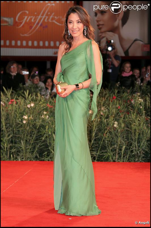L'actrice malaisienne Michelle Yeoh