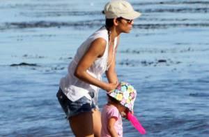 Halle Berry : Petite baignade avec Nahla, c'est la plus heureuse du monde !