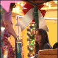 Katie Holmes sur le tournage de Jack and Jill, le 13 décembre 2010.