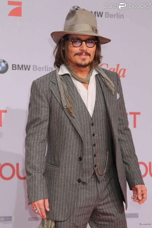 Johnny Depp bientôt au générique de  Rango , en salles le 23 mars 2011.