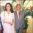 Jacques Martin et Cécilia Attias, juin 84