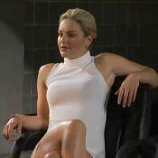 """Quand la sexy Lindsey Vonn se prenait pour Sharon Stone dans """"Basic Instinct"""" !"""